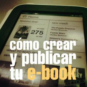 Crear y publicar tu ebook