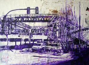 Puente de hierro I 140 x100