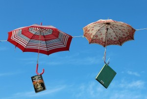 paraguas libros